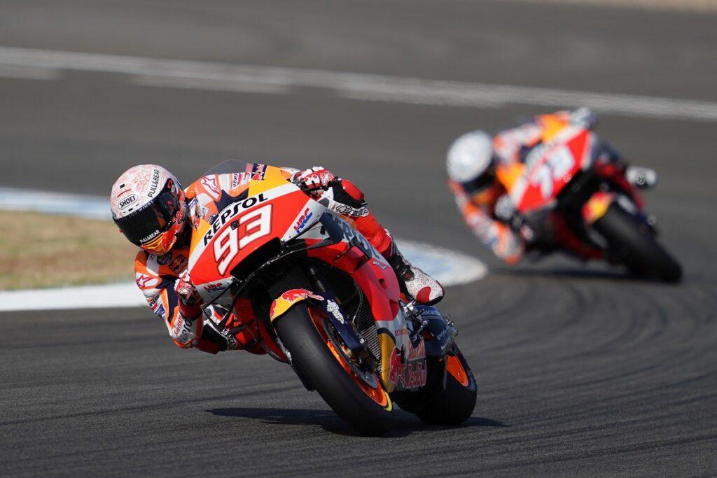 "MotoGP | Gp Jerez Day 1: Marc Marquez, ""Caduta strana, ma nessun problema"""