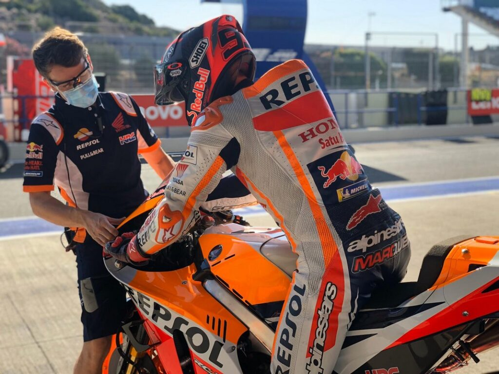 MotoGP | Test Jerez S1: Marquez al comando, Rossi è terzo