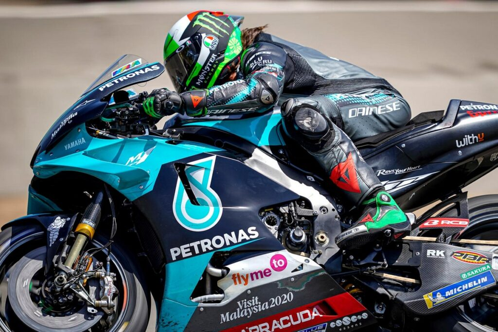 MotoGP | Gp Jerez FP2: Morbidelli in vetta, Rossi arranca