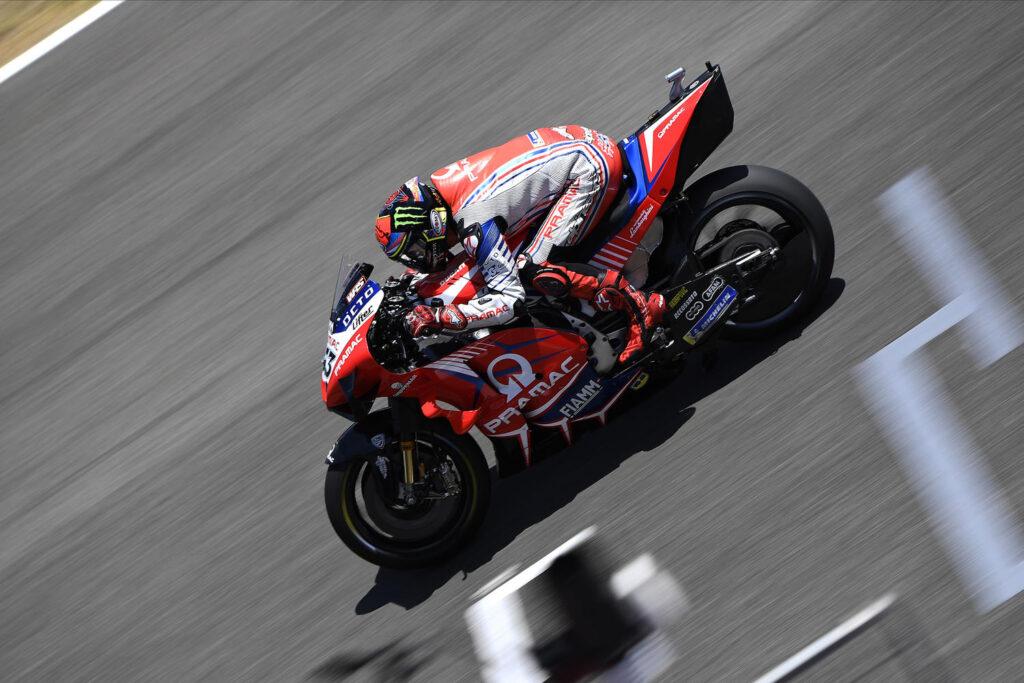 "MotoGP | Gp Jerez Gara: Francesco Bagnaia, ""Avevo il passo per prendere Quartararo"""