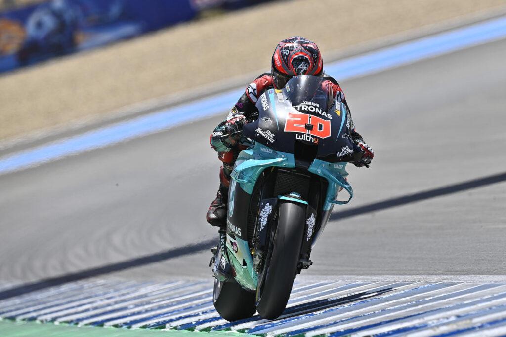 """MotoGP   Gp Jerez Day 1: Fabio Quartararo, """"Ho cambiato il mio approccio alle prove libere"""" [VIDEO]"""