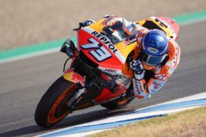 """MotoGP   Gp Jerez Day 1: Alex Marquez, """"L'obiettivo è la Q2"""""""