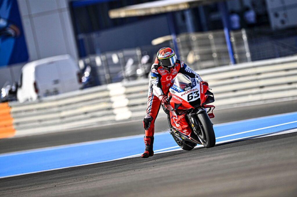 """MotoGP   Gp Jerez Day 1: Francesco Bagnaia, """"Abbiamo preferito concentrarci sul passo"""""""