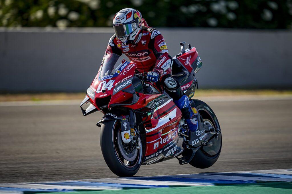 Vince Quartararo Terzo Dovizioso Marquez, Rossi out