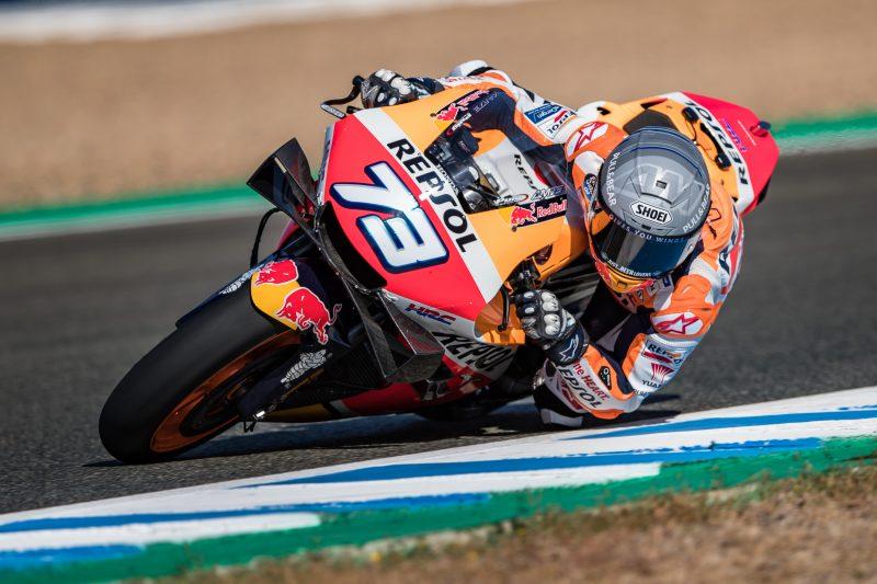 """MotoGP   Test Jerez: Alex Marquez, """"Ho un buon feeling con la moto"""""""