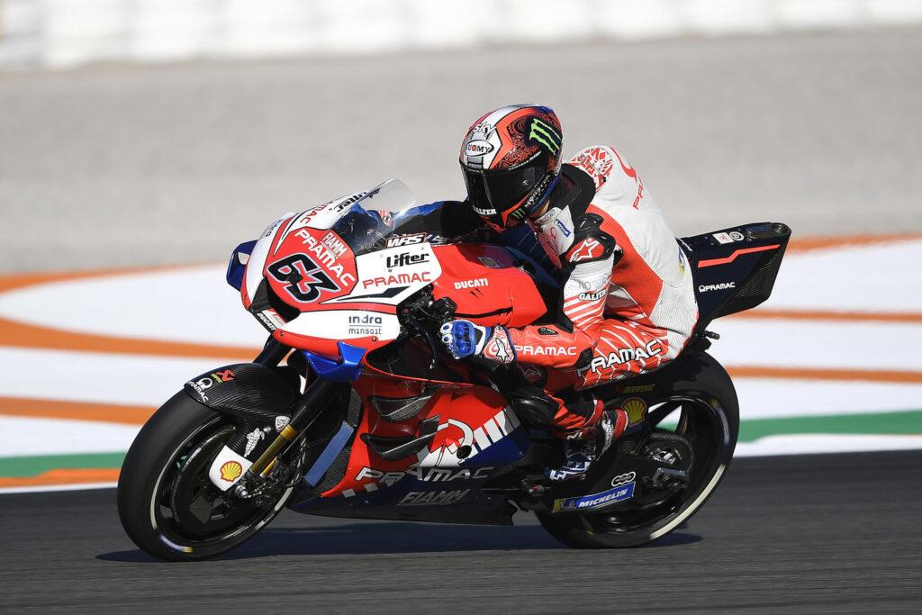 "MotoGP | Test Jerez: Francesco Bagnaia, ""Pensavo sarebbe stato più difficile"""