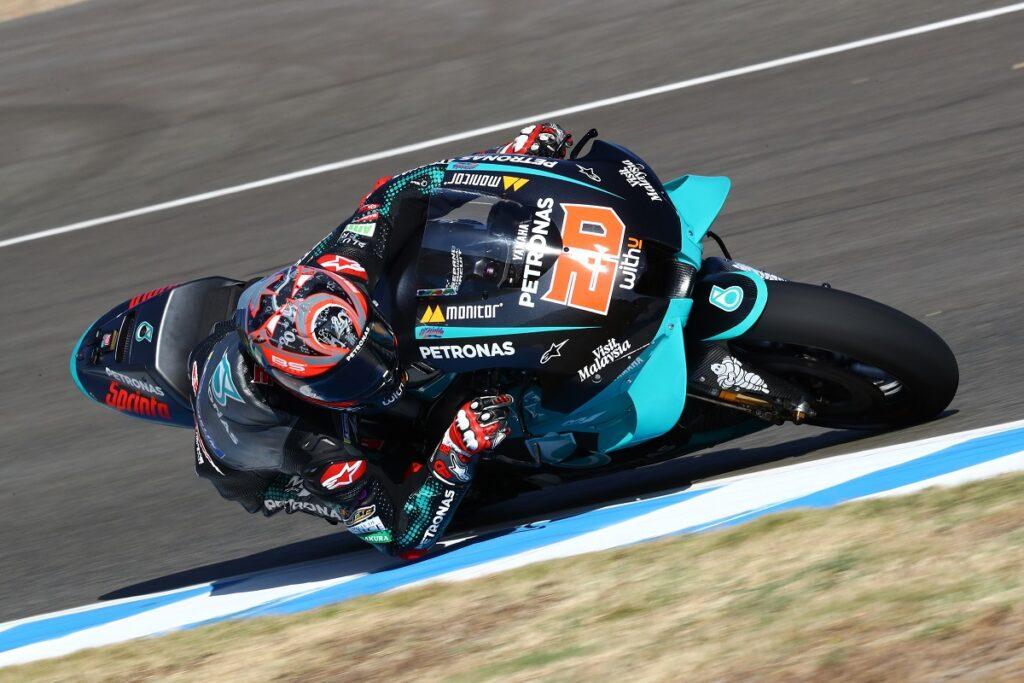 "MotoGP | Gp Jerez: Fabio Quartararo, ""È davvero bello tornare"""