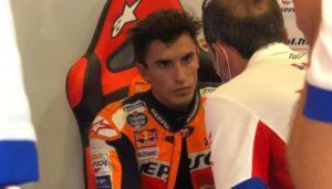 MotoGP   Gp Jerez Qualifiche: Marc Marquez out, lo spagnolo alza bandiera bianca