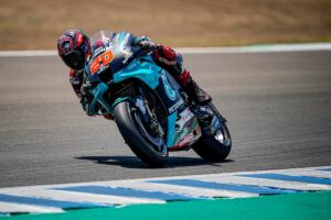 "MotoGP   Gp Jerez Gara: Vince Quartararo, Marquez la ""salva"", rimonta ma chiude con high-side"