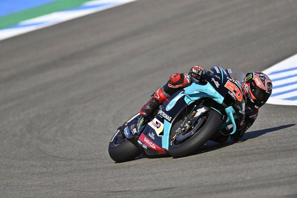 MotoGP   Gp Jerez Gara: Quartararo fa il bis, Rossi ritrova il podio, delusione Bagnaia