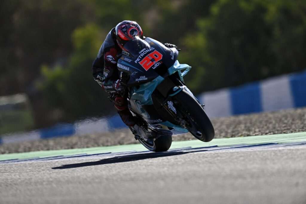 MotoGP | Gp Jerez Warm Up: Quartararo al Top, risale Dovizioso