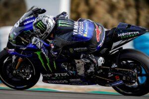 MotoGP   Test Jerez: Vinales chiude al comando, spavento per Petrucci