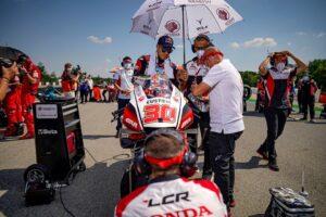 "MotoGP   Gp Brno Gara: Taka Nakagami, ""Non abbiamo commesso errori"""