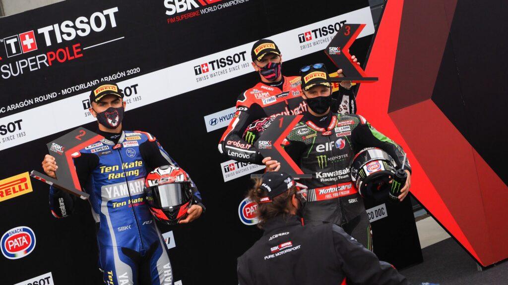 Superbike | Round Aragon, Tissot-Superpole: per Rea pole e record