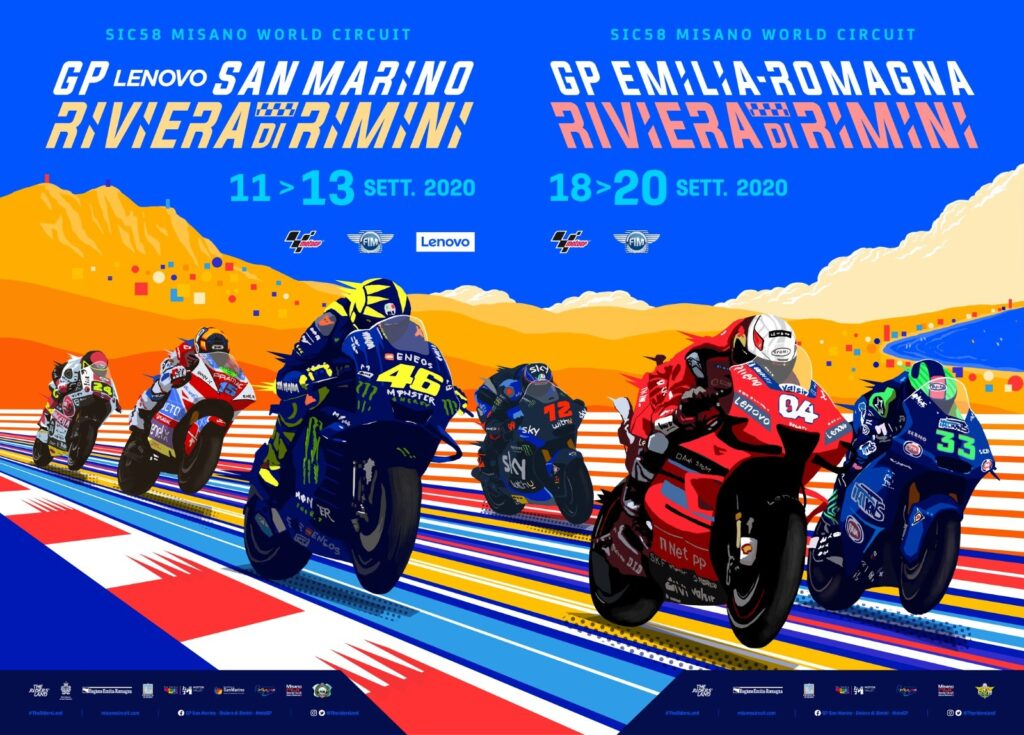 Coronavirus, per la MotoGP a Misano saranno ammessi 10mila spettatori al giorno