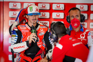 MotoGP | Gp Brno: Francesco Bagnaia salta le FP2 per risonanza alla tibia