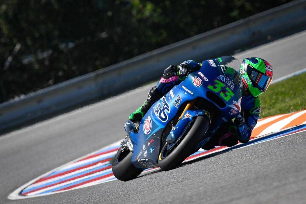 Moto2   Gp Brno Gara: Bastianini bissa Jerez e si porta in testa al mondiale