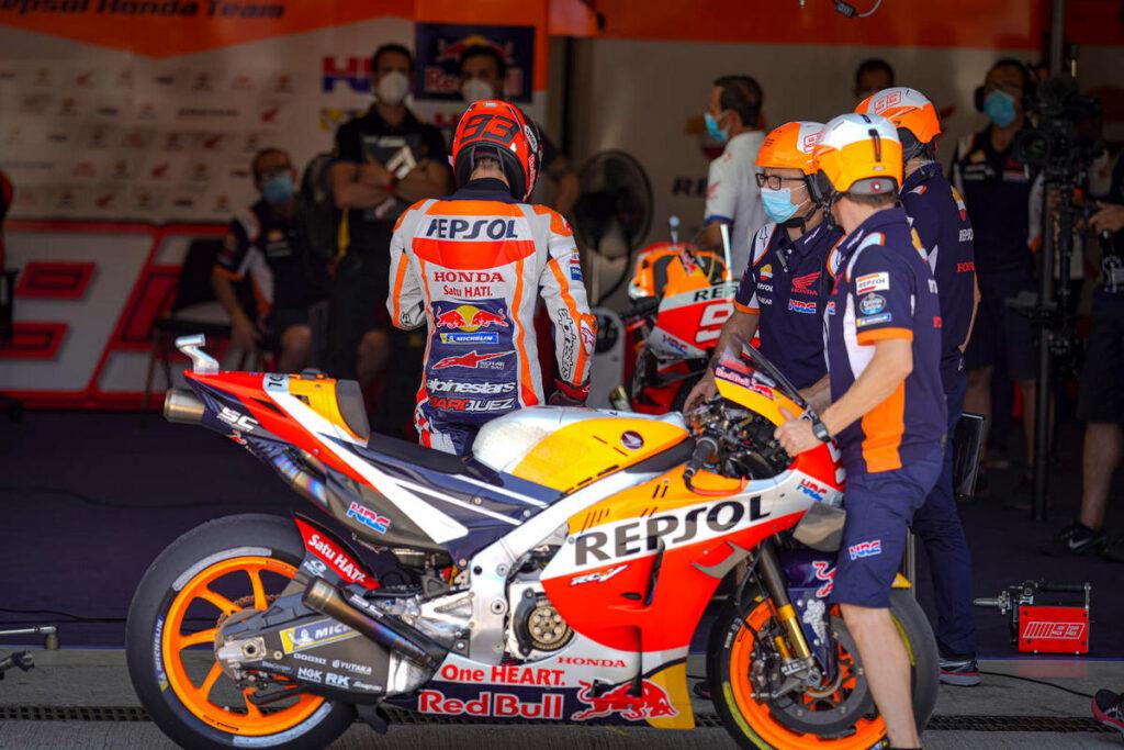 MotoGP |  Marc Marquez salta anche Brno, al suo posto Stefan Bradl