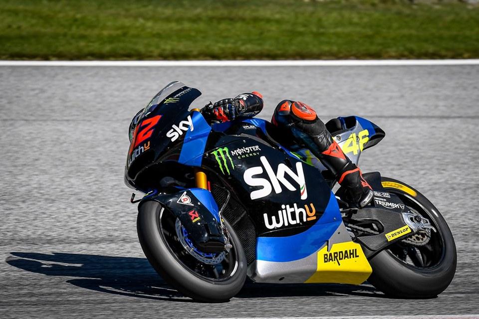 Moto2 | Gp Austria 2 Gara: Bezzecchi conquista la prima vittoria in carriera, penalità per Martin