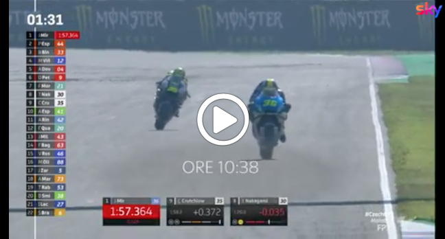 MotoGP   GP Repubblica Ceca, gli highlights delle prime libere [VIDEO]
