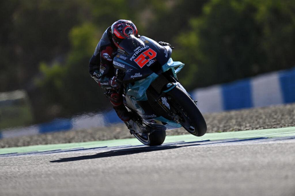 MotoGP   Gp Brno FP2: Quartararo e Morbidelli al Top, faticano Rossi e le Ducati
