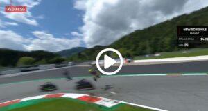 """MotoGP   Gp Austria Gara: Valentino Rossi dopo l'incidente tra Zarco e Morbidelli """"E' stato il rischio più grande della mia carriera"""" [VIDEO]"""