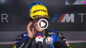 """Moto3   GP Austria 2 Gara, Vietti: """"E' il giorno più bello della mia vita"""" [VIDEO]"""