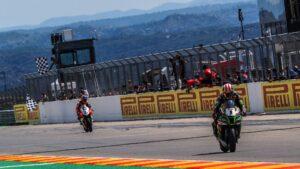 Superbike | Round Teruel, Gara2: Rea strappa la vittoria a Rinaldi