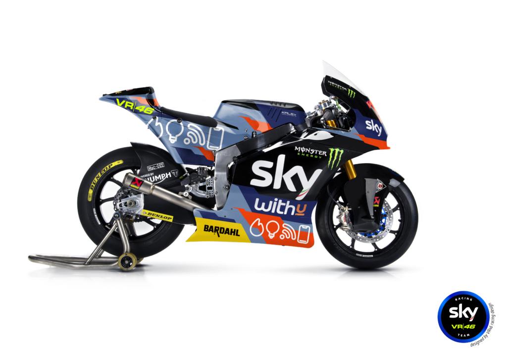 GP Misano: lo Sky Racing Team VR46 presenta la livrea speciale