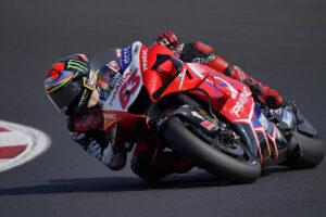 MotoGP | Gp Misano 2 FP3: Bagnaia al comando, Rossi ottavo, Dovizioso costretto alla Q1