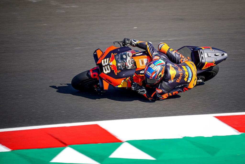 MotoGP   Gp Misano 2 FP2: KTM in testa con Binder, primi cinque vicinissimi, Rossi è dodicesimo