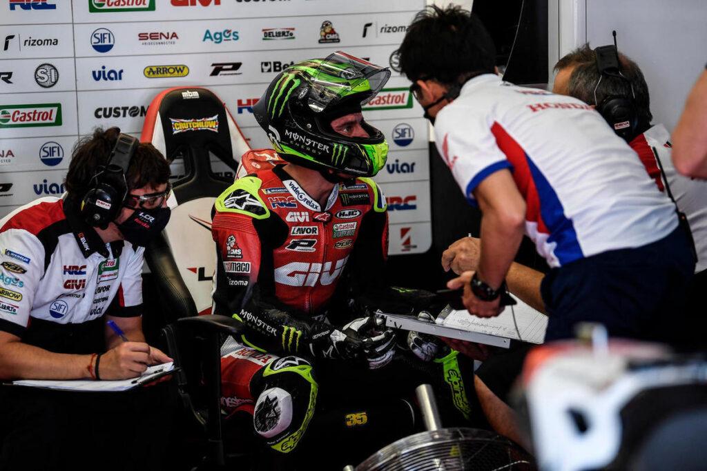 MotoGP | Gp Barcellona: altro infortunio per Cal Crutchlow, scivola e si lesiona la caviglia