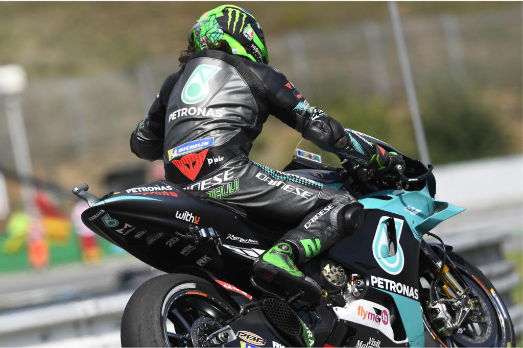 GP Catalogna, Morbidelli: