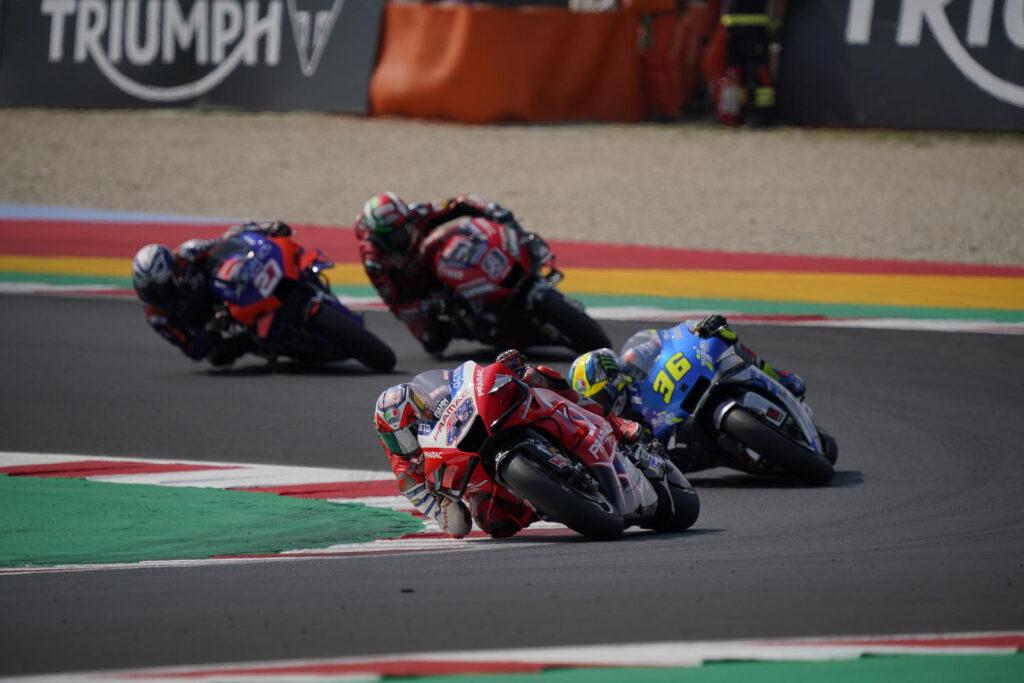 MotoGP   Gp Misano 2 Gara: Jack Miller fermato da una visiera a strappo