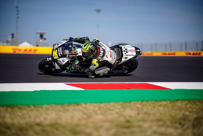MotoGP | Gp Misano: Cal Crutchlow alza bandiera bianca [VIDEO]
