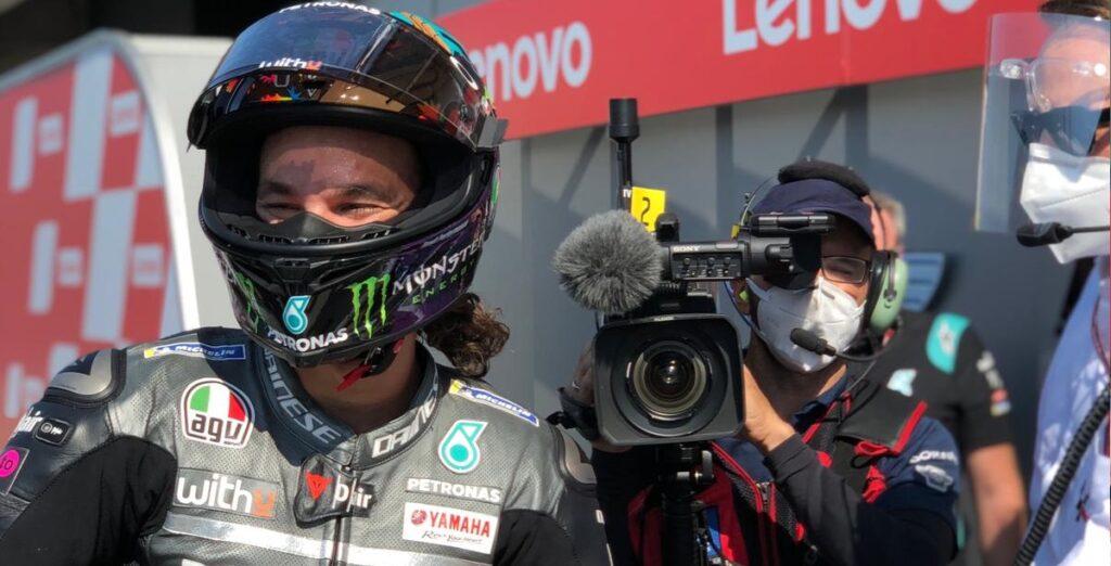 "MotoGP | Gp Misano Gara: Franco Morbidelli, ""Sono estremamente felice"" [VIDEO]"