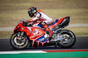 "MotoGP   Gp Misano Test: Francesco Bagnaia, ""Giornata molto positiva"""