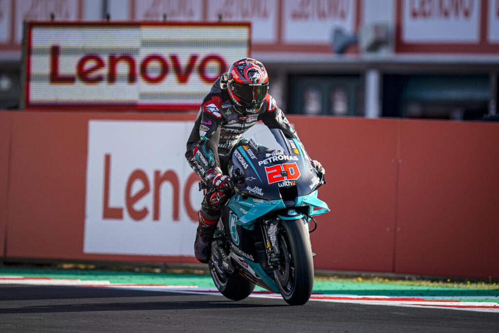 "MotoGP   Gp Misano Test: Fabio Quartararo, ""Sappiamo quali sono i nostri punti deboli"""