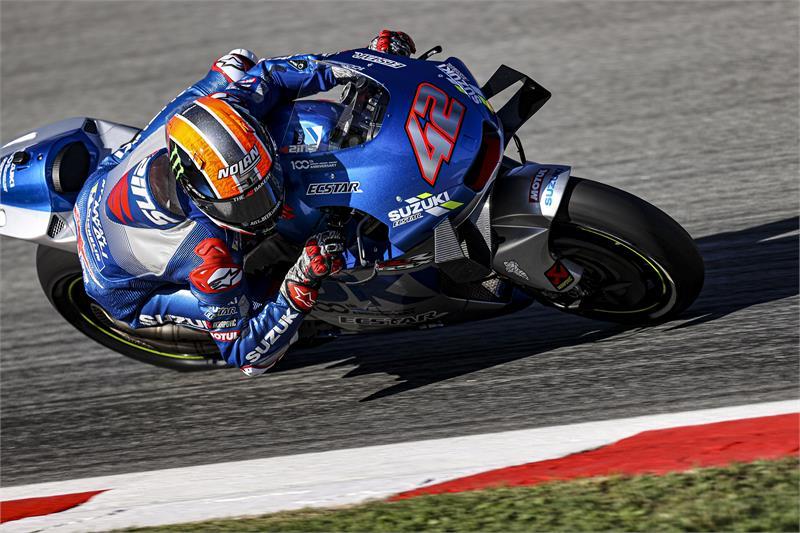 """MotoGP   Gp Barcellona Day 1: Alex Rins, """"Feeling positivo"""""""