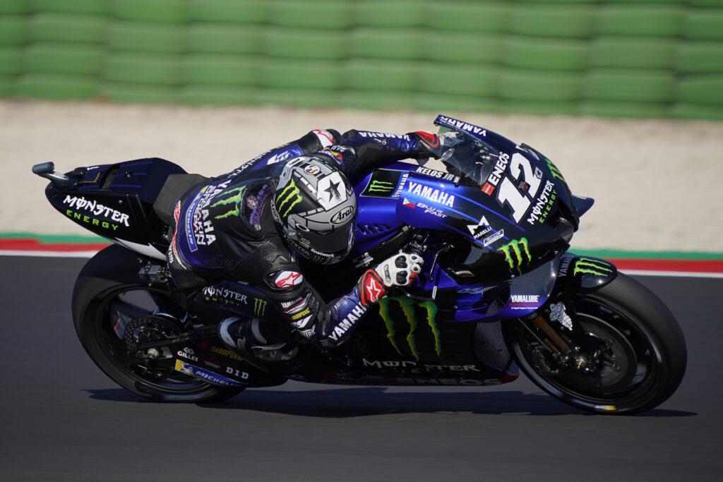 MotoGP | Gp Misano Qualifiche: dominio Yamaha, Vinales in pole, Rossi è quarto
