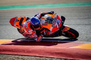 MotoGP | Gp Aragon 2 FP1: Alex Marquez miglior tempo e caduta, Morbidelli è quinto