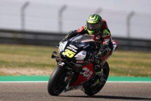 "MotoGP   Gp Aragon Day 1: Crutchlow, ""Difficile riscaldare le gomme"""