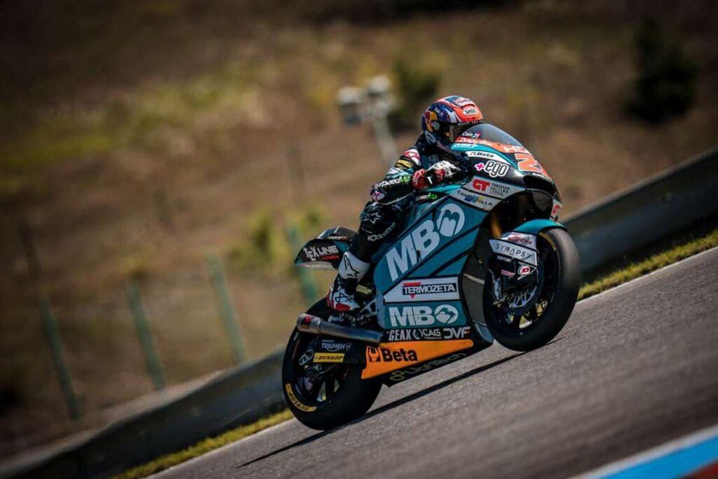 Moto2 | Gp Aragon FP2: Di Giannantonio davanti a Bezzecchi