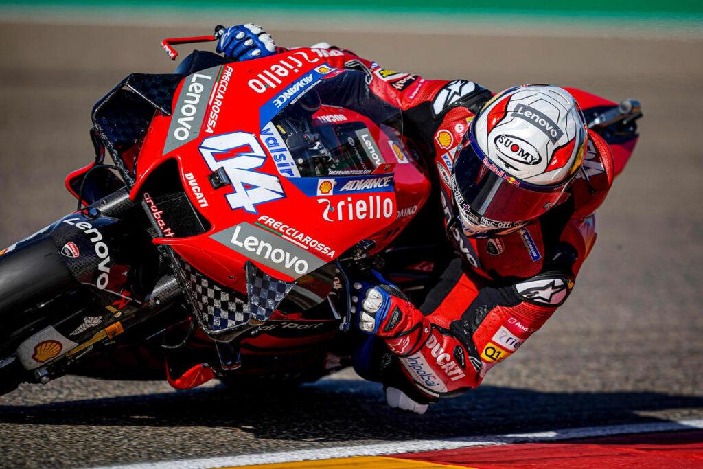 """MotoGP   Gp Aragon 2 Day 1: Andrea Dovizioso, """"Gap molto ampio a livello di passo"""" [VIDEO]"""