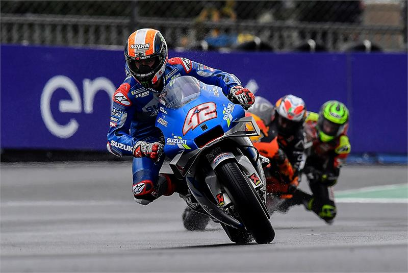 "MotoGP | Gp Le Mans Gara: Rins, ""La caduta è stata una sfortuna"""