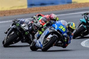 "MotoGP | Gp Le Mans Gara: Mir, ""Ho lottato con il grip"""
