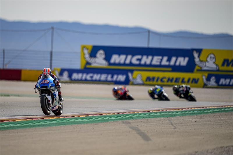 """MotoGP   Gp Aragon 2 Gara: Rins, """"Volevo vincere"""""""