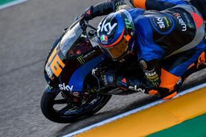 Moto3   Gp Aragon FP3: Migno al Top, Antonelli è terzo