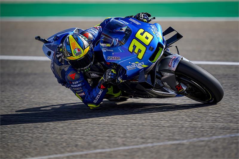 "MotoGP   Gp Aragon Day 1: Mir, ""Stiamo mettendo a punto una buona base"""
