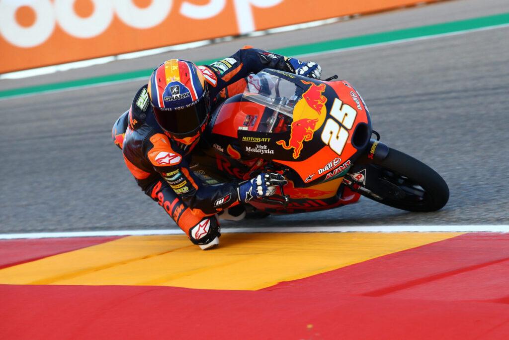 Moto3 | Gp Aragon Qualifiche: Pole a Fernandez, ma Vietti è in scia